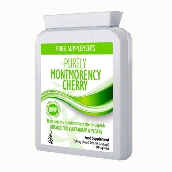 montmorency cherry supplement capsules