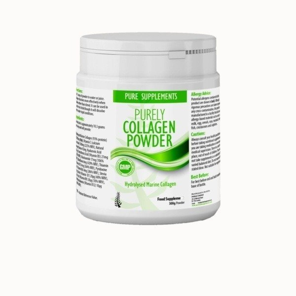 best hydrolysed marine collagen powder supplement uk