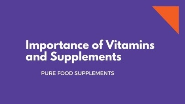 Importance of Supplements