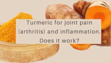 Turmeric for joint pain (arthritis) and inflammation. Does it work?